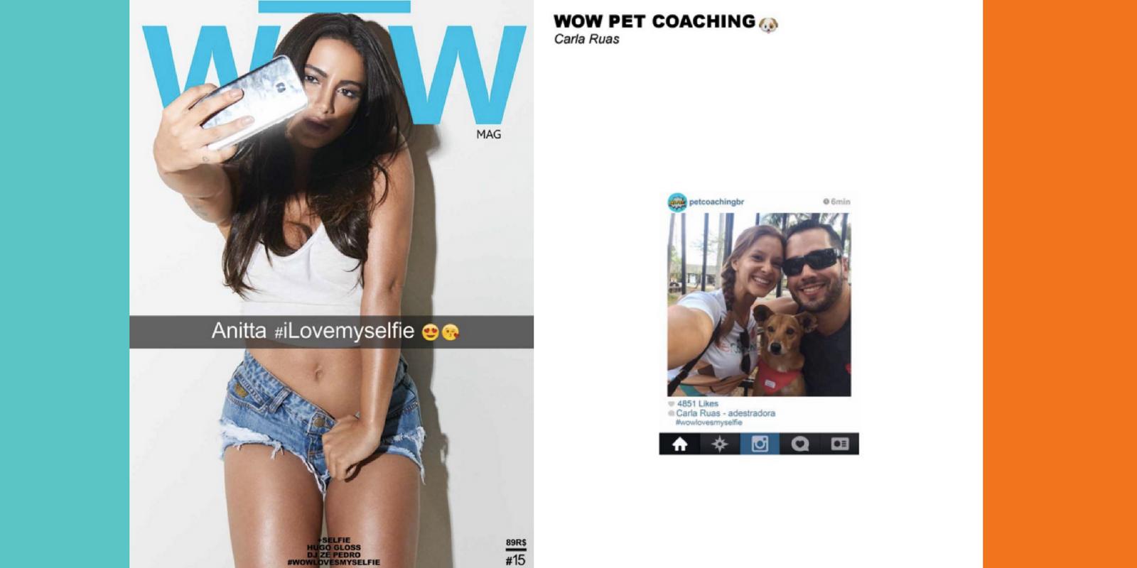 Lambeijos, Carla Ruas - Coluna #4 WOW PetCoaching: Cara de um, Males do outro